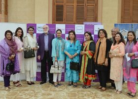 Shakila, Hina, Saira Kabeer, Mahin, Senator Haseeb khan and others