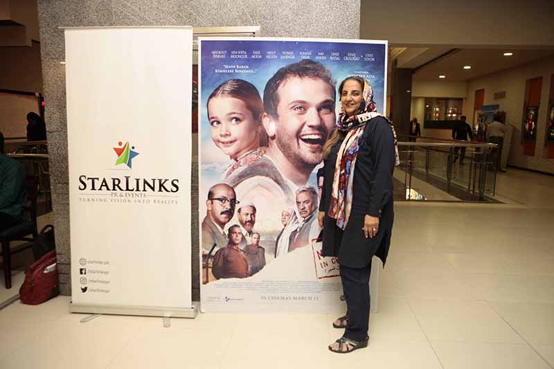 CEO of Starlinks PR and Events was there for the exclusive screening of the Turkish film miracle in cell no 7 (1)